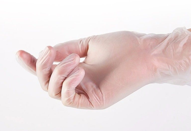 Plastic Vinyl Examination Multi Purpose Disposable Pvc Gloves For Household Duties.